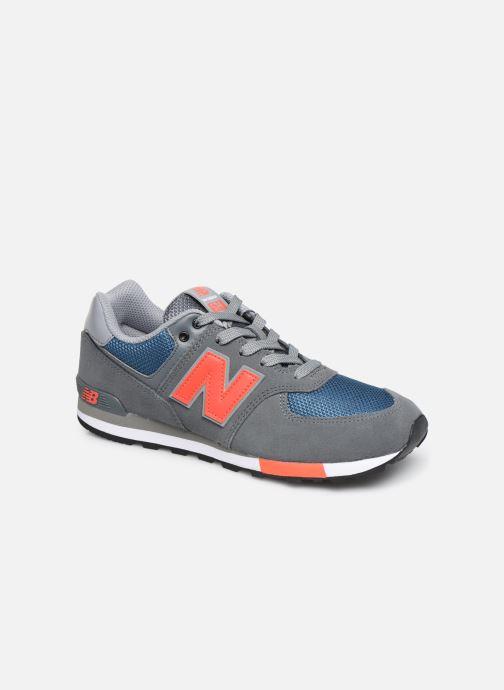 Sneaker New Balance GC574 GV grau detaillierte ansicht/modell