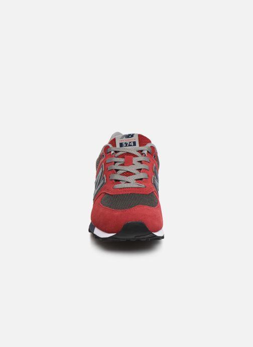 Sneakers New Balance GC574 GV Rosso modello indossato