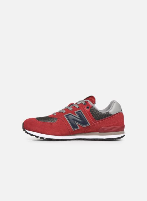 Sneakers New Balance GC574 GV Rosso immagine frontale