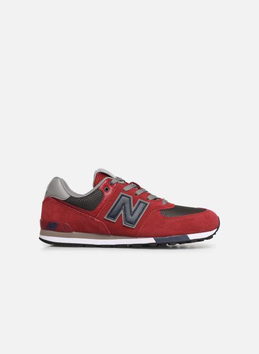Sneakers New Balance GC574 GV Rosso immagine posteriore