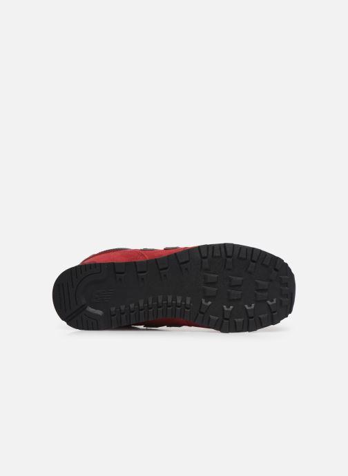 Sneakers New Balance GC574 GV Rosso immagine dall'alto
