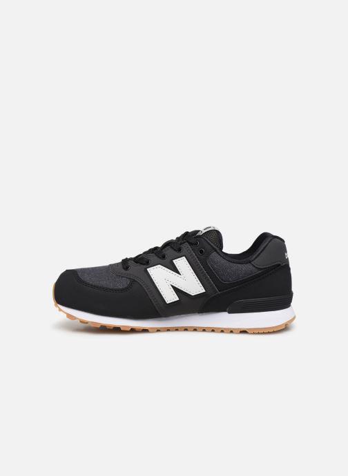Sneakers New Balance GC574 Zwart voorkant