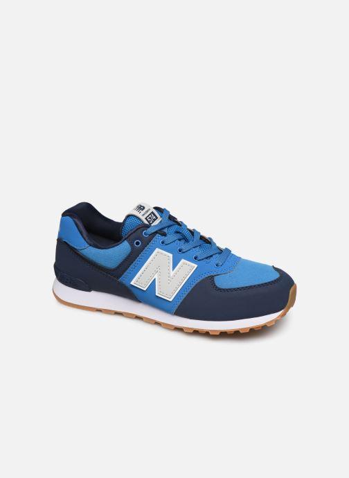 Sneaker New Balance GC574 GV blau detaillierte ansicht/modell