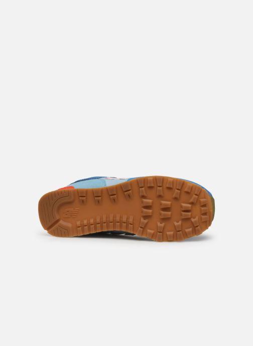 Sneaker New Balance GC574 GV blau ansicht von oben