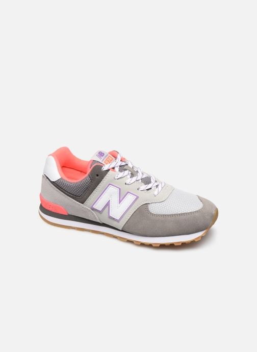 Baskets New Balance GC574 GV Gris vue détail/paire