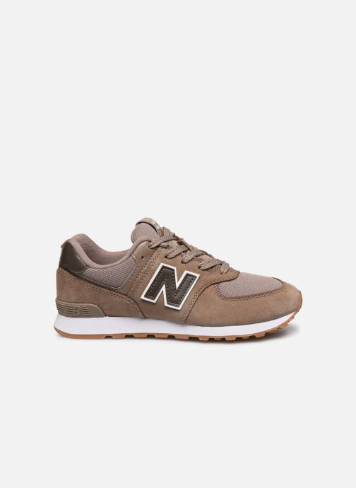 Baskets New Balance GC574 GV Marron vue derrière