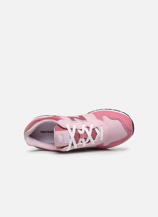 Sneaker New Balance GC574 GV rosa ansicht von links