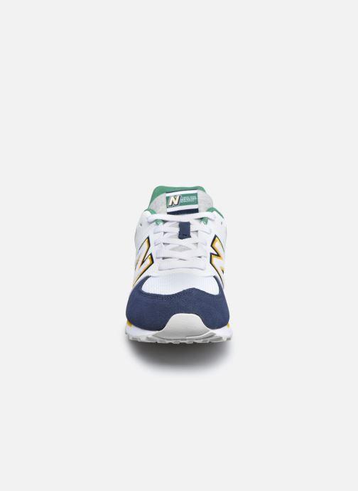 Sneakers New Balance GC574 GV Azzurro modello indossato