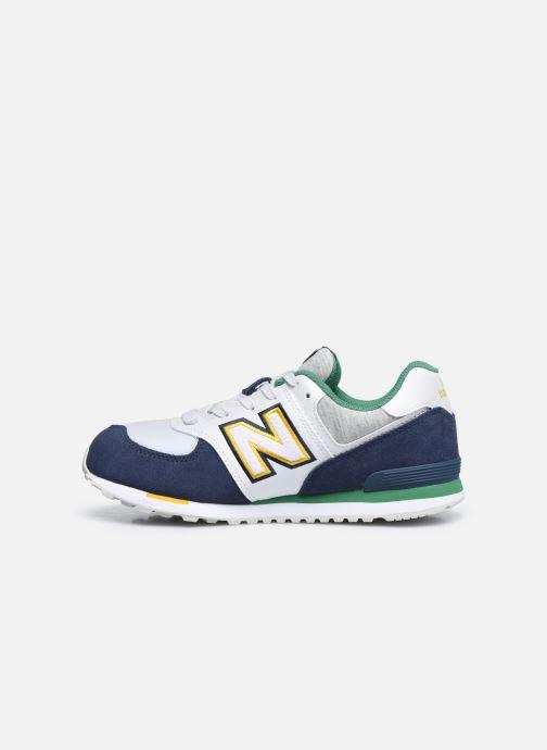 Sneakers New Balance GC574 GV Azzurro immagine frontale