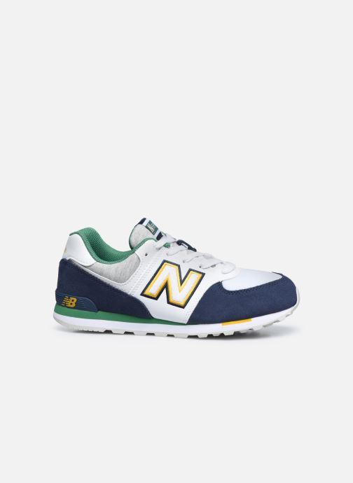 Sneakers New Balance GC574 GV Azzurro immagine posteriore