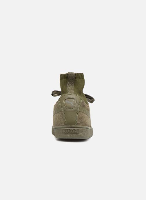 Sneaker Puma Suede Classic Sock grün ansicht von rechts