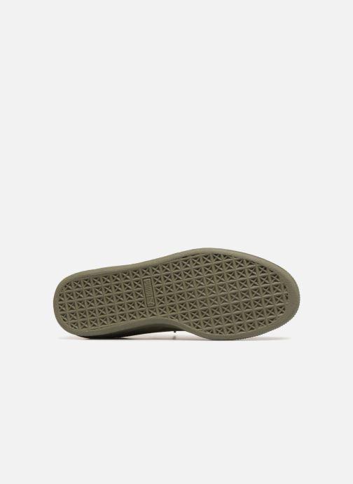 Sneaker Puma Suede Classic Sock grün ansicht von oben
