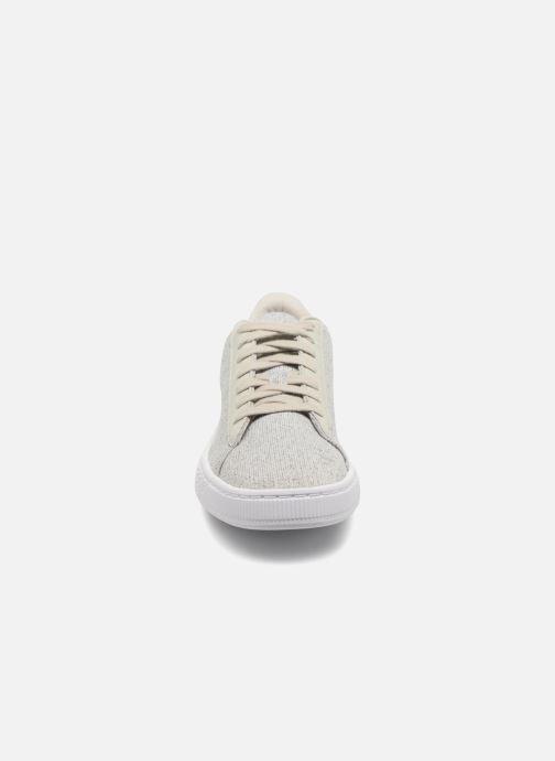 Baskets Puma Basket Classic Knit Gris vue portées chaussures