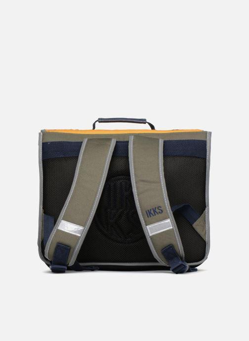 Schooltassen Ikks Cartable 38cm Backpacker in Tokyo Geel voorkant