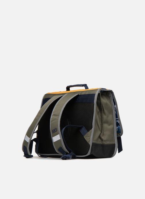 Schulzubehör IKKS Cartable 38cm Backpacker in Tokyo gelb ansicht von rechts