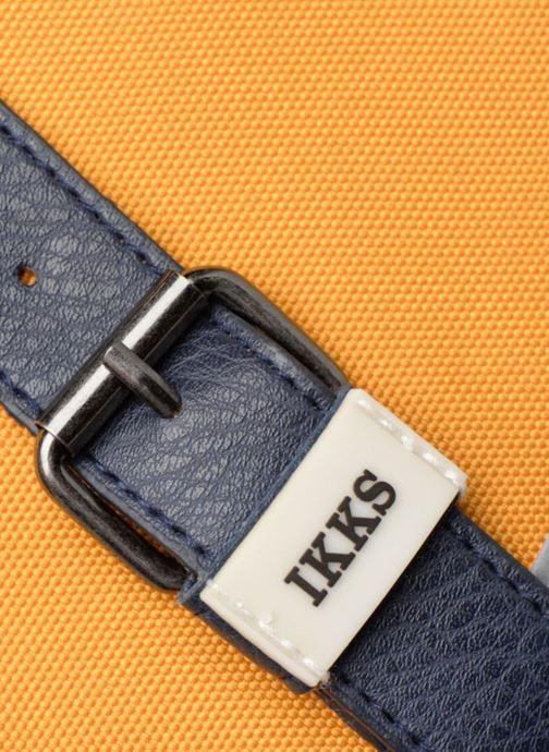 Schulzubehör IKKS Cartable 38cm Backpacker in Tokyo gelb ansicht von links