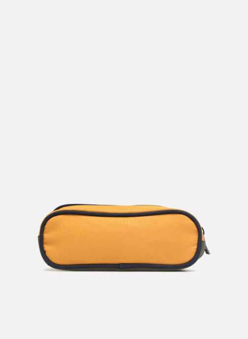 Scolaire IKKS Trousse Double Backpacker in Tokyo Jaune vue face