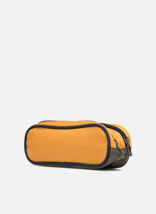 Scolaire IKKS Trousse Double Backpacker in Tokyo Jaune vue droite