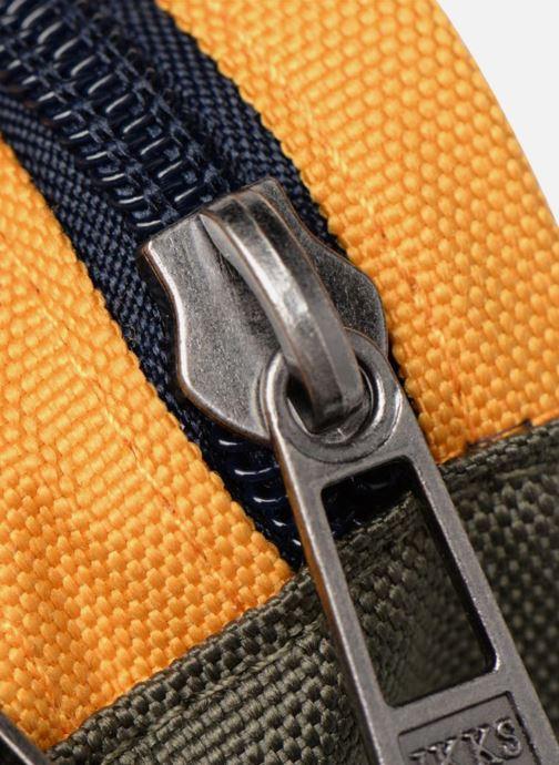 Scolaire IKKS Trousse Double Backpacker in Tokyo Jaune vue gauche