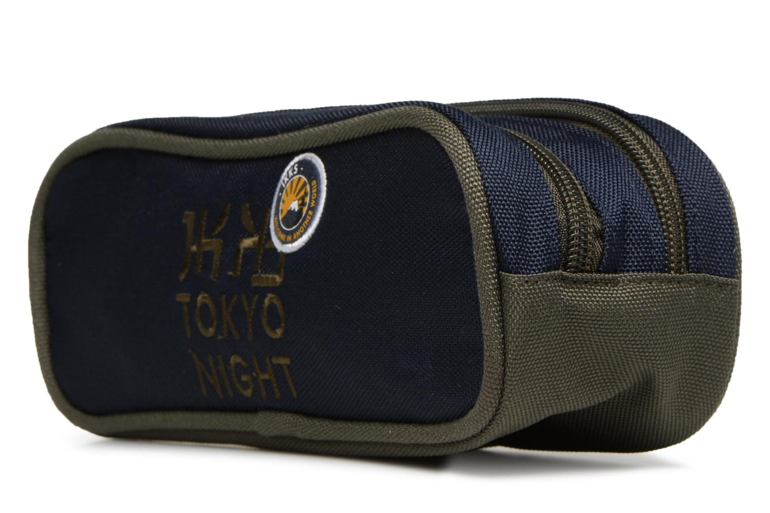 Ikks Bleu Double Backpacker Trousse Tokyo in 66Aarq