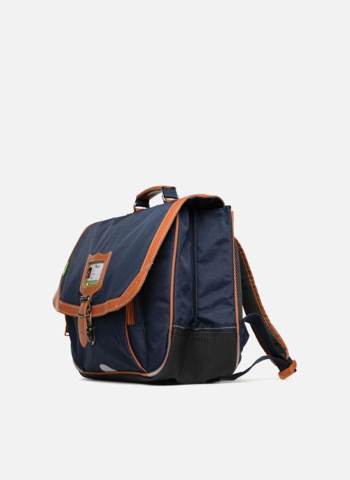 Schooltassen Tann's Cartable 38cm Les Incontournables Blauw model
