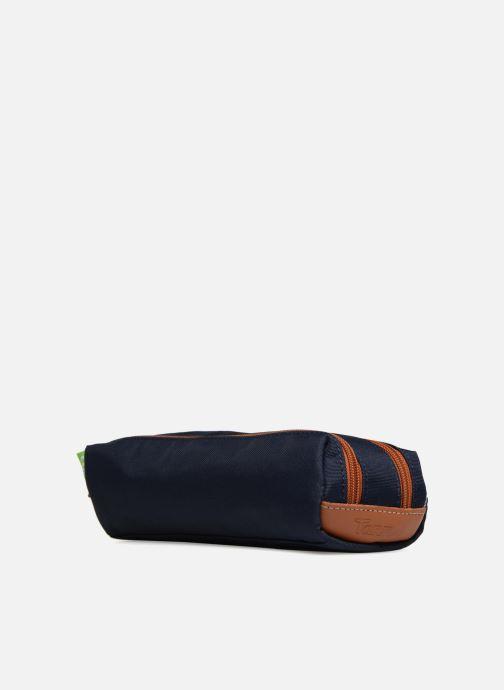 Scolaire Tann's Trousse Double Les Incontournables Bleu vue portées chaussures