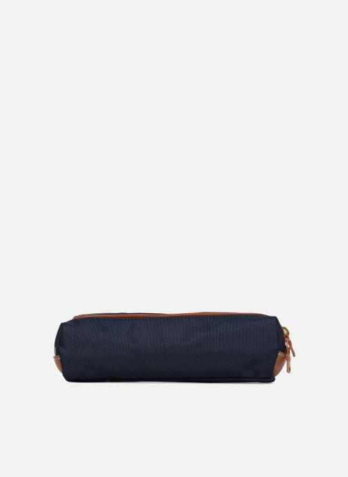 School bags Tann's Trousse Double Les Incontournables Blue front view
