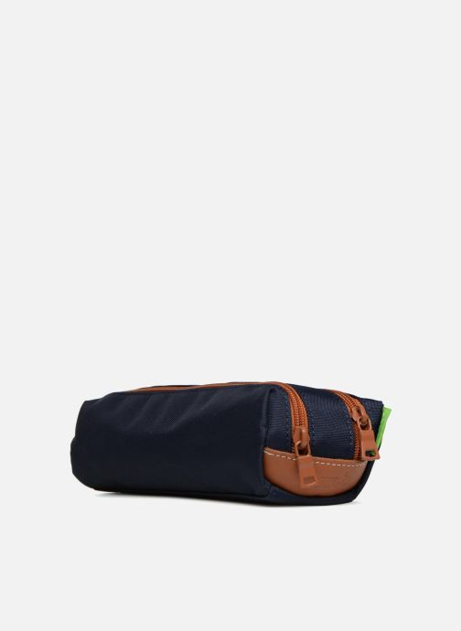 School bags Tann's Trousse Double Les Incontournables Blue view from the right