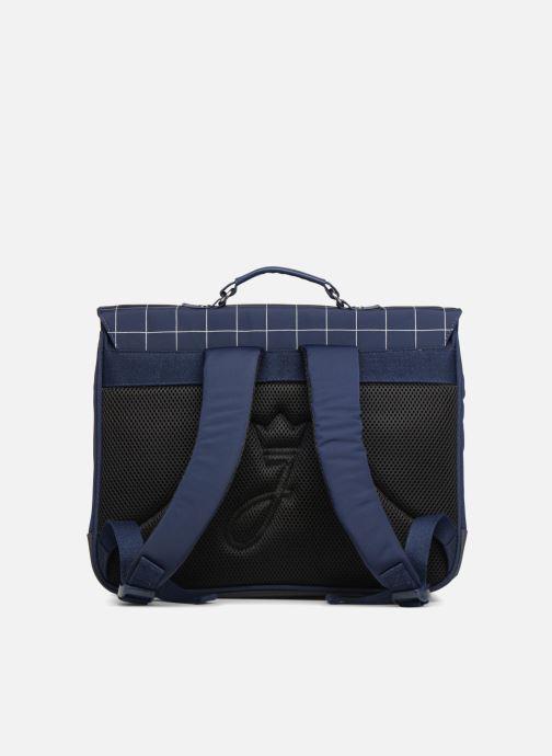 Skoletasker JACADI Cartable 38cm Epure Blå se forfra