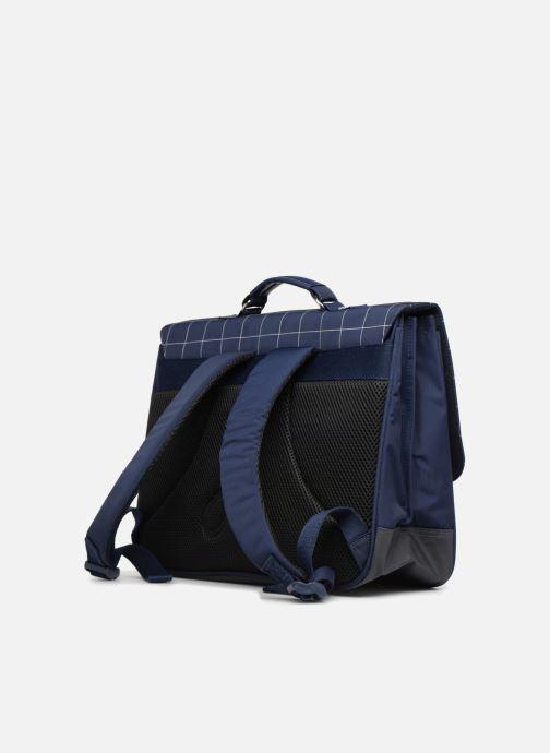 Skoletasker JACADI Cartable 38cm Epure Blå Se fra højre