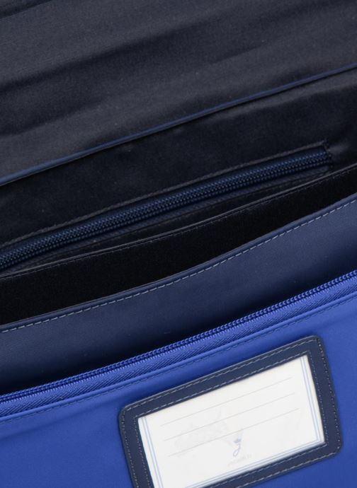 Skoletasker JACADI Cartable 38cm Epure Blå se bagfra