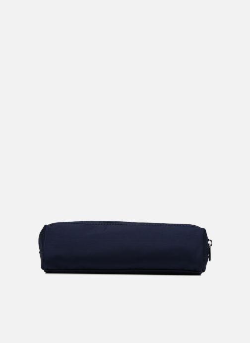 Schooltassen JACADI Trousse Double Elementaire Blauw voorkant