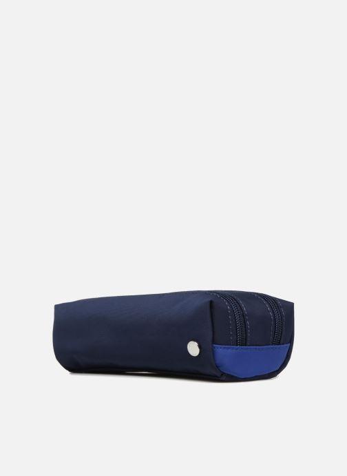 Schooltassen JACADI Trousse Double Epure Blauw model