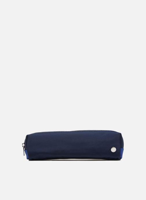 Schooltassen JACADI Trousse Double Epure Blauw detail