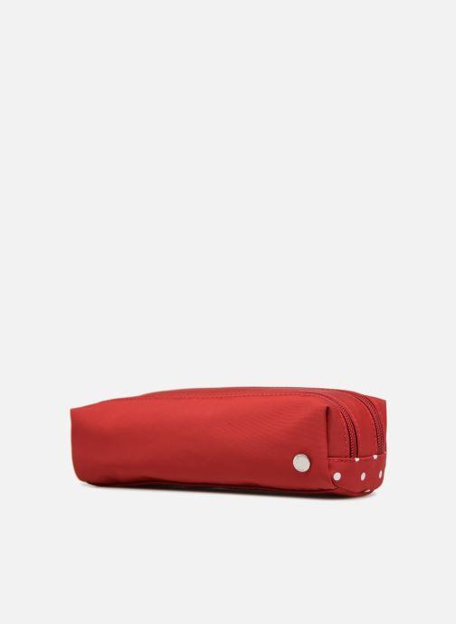Scolaire JACADI Trousse Double Palais Royal Rouge vue portées chaussures