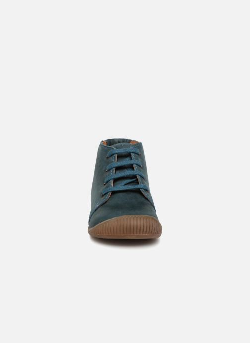 Ankle boots Babybotte Fredo Blue model view