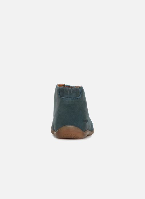 Ankle boots Babybotte Fredo Blue view from the right