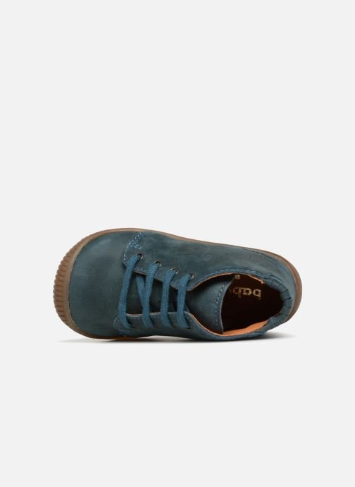 Ankle boots Babybotte Fredo Blue view from the left