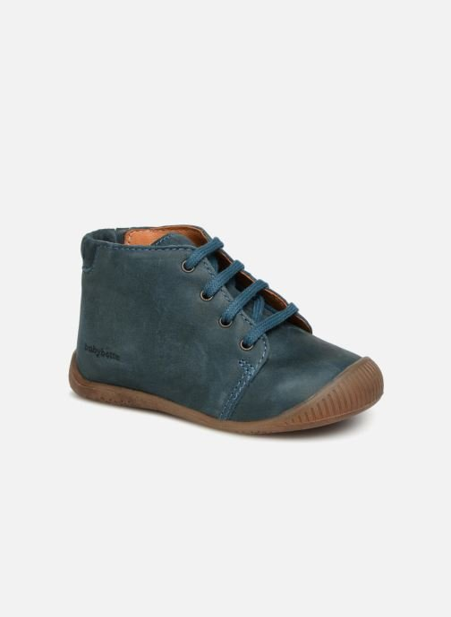 Ankle boots Babybotte Fredo Blue detailed view/ Pair view