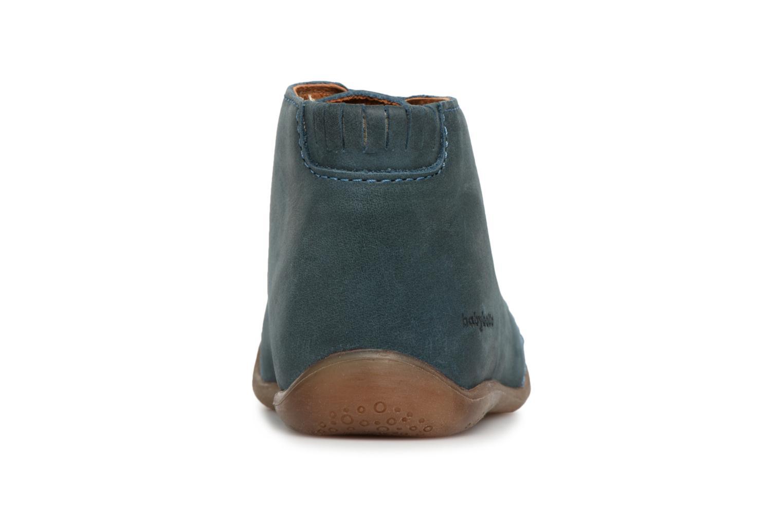 Bottines et boots Babybotte Fredo Bleu vue droite