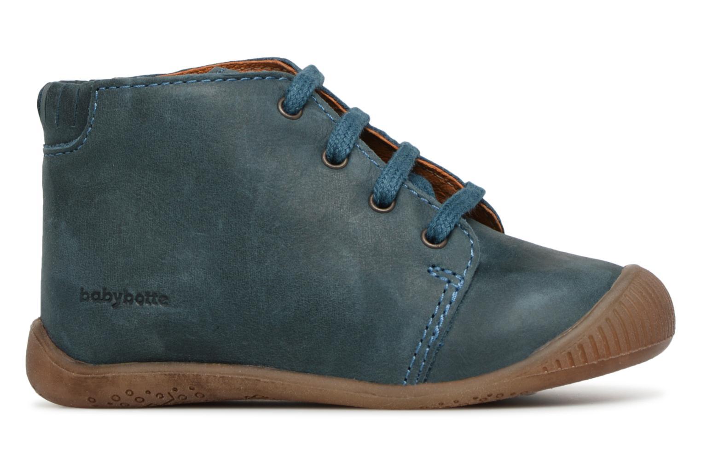 Bottines et boots Babybotte Fredo Bleu vue derrière