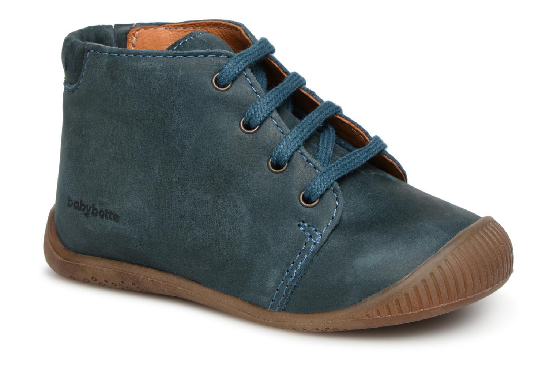 Bottines et boots Babybotte Fredo Bleu vue détail/paire