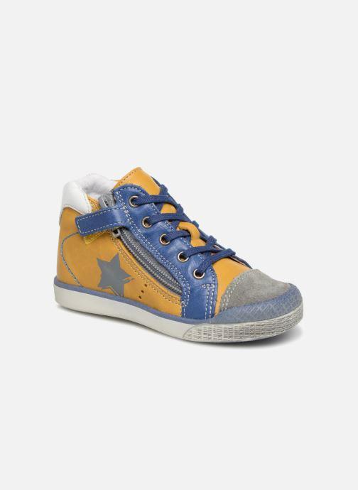 Ankelstøvler Babybotte Astre Gul detaljeret billede af skoene