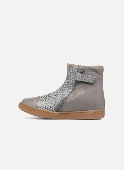 Ankle boots Babybotte Apistar Grey front view