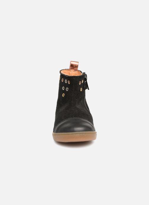 Bottines et boots Babybotte Anoki Noir vue portées chaussures