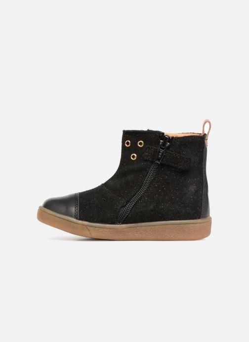 Bottines et boots Babybotte Anoki Noir vue face