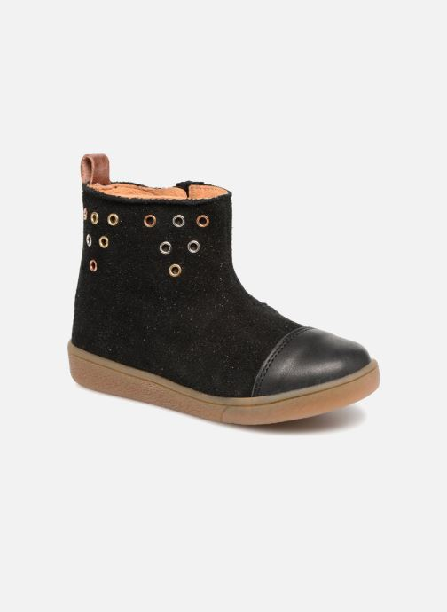 Ankle boots Babybotte Anoki Black detailed view/ Pair view