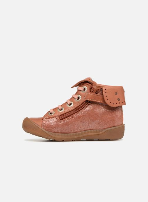 Boots en enkellaarsjes Babybotte Artistine Roze voorkant