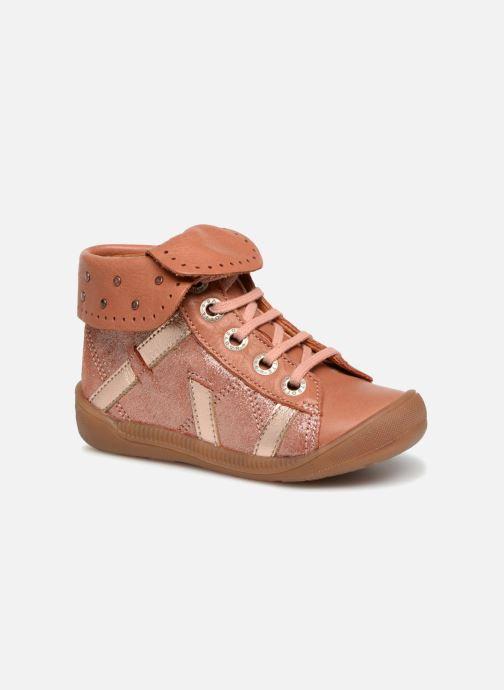 Boots en enkellaarsjes Babybotte Artistine Roze detail