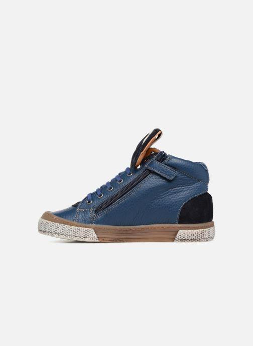 Sneakers Babybotte Klif Azzurro immagine frontale